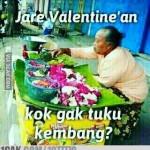 Meme Lucu #AksiBelaJomblo Ramaikan Valentine