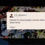 Cuitan SBY dijadikan lagu. (Istimewa/Twitter)