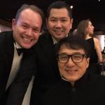 Hadiri Academy Awards 2017, Hary Tanoe Pamer Foto Bareng Jackie Chan