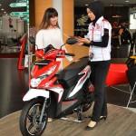 Penjualan Motor Honda Tumbuh 19% Awal Tahun 2017