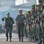 Yonif 405/Surya Kusuma Gantikan Yonif 413/Bremoro di Papua