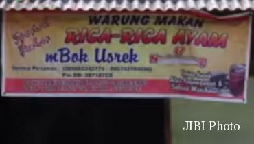 Ilustrasi rica-rica Mbok Usrek Boyolali (Youtube SoloposTV)