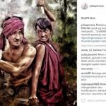 """INSTAGRAM ARTIS : Lawan Kanker, Jupe Ingat Perjuangan Malini di """"Gending Sriwijaya"""""""