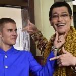 Justin Bieber Shooting Iklan Bareng Piko Taro