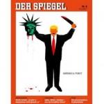 Kartun Der Spiegel Trump penggal Patung Liberty (bbc.co.uk)