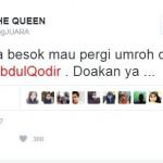 KABAR ARTIS : Maia Umrah Bareng Dul, Netizen Titip Doa untuk Ahmad Dhani