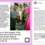 Kisah bahagia dibagikan selebgram Nurul Azka di akun Instagramnya. (Istimewa/Instagram/@nunuzoo_Instagram)