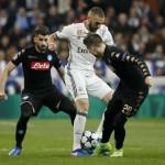 LIGA CHAMPIONS : Sempat Tertinggal, Madrid Tekuk Napoli 3-1