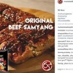 Martabak Samyang (Instagram Martabak56a)