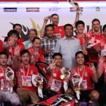 Tekuk Djarum Kudus 3-2, Putra Musica Champions Juara Djarum Superliga 2017