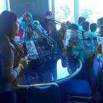 KUNJUNGAN MEDIA : MI Muhammadiyah Kedungwinong dan SMP Ahmad Dahlan Sukoharjo Bertandang ke Solopos