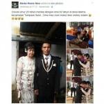 Pernikahan beda generasi (Facebook)