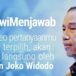 Ingin Bertanya kepada Presiden? Ikuti Program #JokowiMenjawab