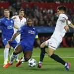 LIGA CHAMPIONS : Sevilla Bekuk Leicester 2-1