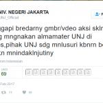 UNJ Bakal Usut Kasus Mahasiswa Potong Leher Ayam saat Demo
