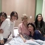 INSTAGRAM ARTIS : Jenguk Jupe, Dewi Persik Tulis Pesan Mengharukan