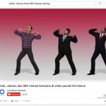 Youtube Ahok, Jokowi, dan SBY Menari Bersama. (Istimewa/Youtube)
