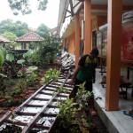 PENDIDIKAN SRAGEN : Lisplang Tak Kuat Menahan Beban, Konsol Atap SMAN 1 Sragen Runtuh
