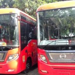 TRANSPORTASI SEMARANG : BRT Trans Semarang Gandeng Aplikasi Online