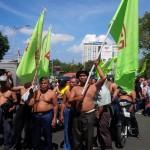 DEMO BURUH : Mediasi Buruh dan Manajemen Simoplas Buntu
