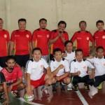 HARI PERS NASIONAL : DPRD Karanganyar Ajak Tanding Futsal, Bupati Beri Kejutan dengan Bunga Mawar