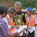 FOTO JALAN TOL SEMARANG – SOLO : Beginilah Aksi Gubernur Jateng di Jalan Tol Bawen-Salatiga