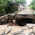 BENCANA SRAGEN : Dampak Banjir: Jembatan di Plosokerep Putus, Talut di Guworejo Ambrol