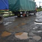 JALAN RUSAK JATENG : Perbaiki Jalur Pantura, Kementerian PUPR Janji Tambah Personel