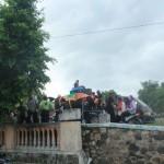 Hujan, Warga Tatung Ponorogo Gagal Menggelar Kirab Sedekah Bumi