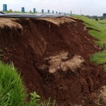 INFRASTRUKTUR KARANGANYAR : Hari Ini, Tim dari Kementerian PUPR Periksa Tanggul Waduk Lalung