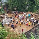 BENCANA WONOGIRI : Rumah Hancur Terkena Longsor, 5 Penghuni Selamat