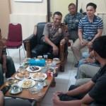 MAHASISWA UII MENINGGAL : Temui Wakapolres, IKML Tanyakan Perkembangan Kasus Diksar Unisi