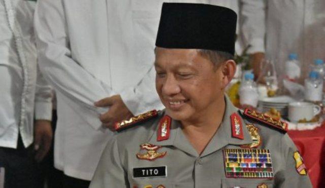 Kapolri Jenderal Pol. Tito Karnavian. (JIBI/Solopos/Antara/R. Rekotomo)