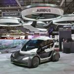 GMS 2017 : Ini Penampakan Mobil Terbang Bikinan Airbus