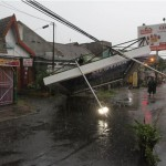 BENCANA SOLO : Diterjang Angin Ribut, Belasan Rumah Warga Rusak