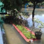 BANJIR SOLO : Terendam Air, Sejumlah Sekolah Terpaksa Liburkan Siswa