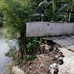 BENCANA SOLO : Tak Kunjung Diperbaiki, Talut Ambrol di Totosari Ancam Rumah Warga