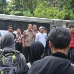 PROYEK PANAS BUMI KARANGANYAR : Dukung Aksi Penolakan, Bupati Yuli Ikut Berorasi