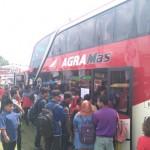 TRANSPORTASI WONOGIRI : Agra Mas Luncurkan 2 Bus Tingkat Jurusan Wonogiri-Jakarta