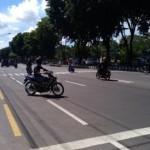 INFRASTRUKTUR KARANGANYAR : Dilebarkan, Jalan Jl. Lawu Bikin Warga Takut Menyeberang