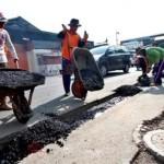 INFRASTRUKTUR SOLO : Ketua LPMK Jagalan Jadi Korban Lubang Galian Sanitasi Jl. Juanda