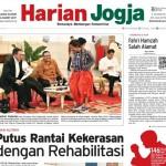 HARIAN JOGJA HARI INI : Putus Rantai Kekerasan dengan Rehabilitasi