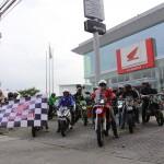 ASTRA HONDA MOTOR : Komunitas Motor Sport Lintas Merek Sambut CRF250RALLY
