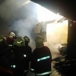 KEBAKARAN KLATEN : Ruang Oven Kayu Milik Warga Bayat Terbakar