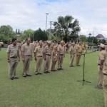 Terlambat Apel, Ratusan PNS di Klaten Dihukum Menyanyi