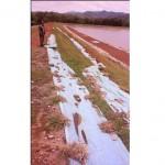 INFRASTRUKTUR WONOGIRI : Retakan Tanah Waduk Kedung Uling Semakin Parah