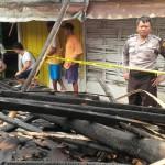 KEBAKARAN MADIUN : Korsleting Listrik, 1 Rumah di Jiwan Ludes Terbakar