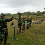 Asah Kemampuan, 472 Prajurit Kodim Madiun Latihan Menembak