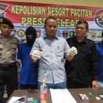 NARKOBA PACITAN : Pesta Sabu-Sabu di Kamar Indekos, Sepasang Kekasih Ditangkap Polisi