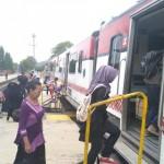 TRANSPORTASI WONOGIRI : Jadwal Railbus Batara Kresna Dimajukan 2 Jam